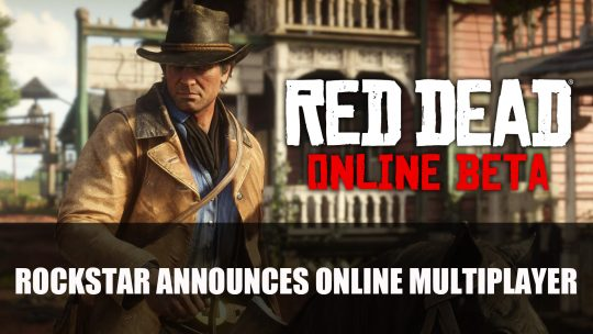 Red Dead Redemption 2 Reveals Red Dead Online