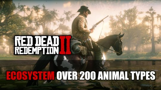 Red Dead Redemption 2 Ecosystem Will Have Over 200 Animal Types