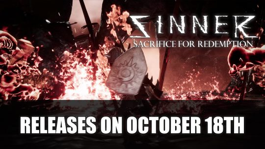 Sinner: Sacrifice for Redemption Launches on Switch, PS4 and Xbox One on October 18th