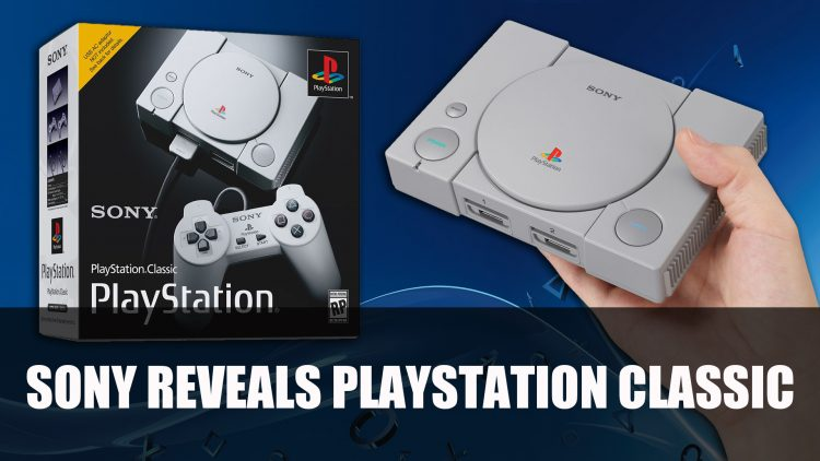 Sony Announces Playstation Classic – A mini PS1