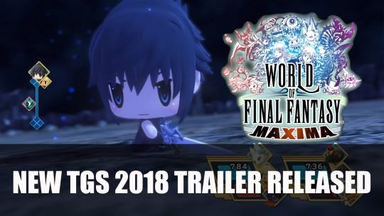World of Final Fantasy Maxima Gets TGS 2018 Trailer