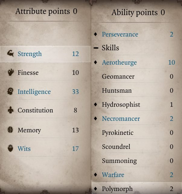 Aerotheurge Build Divinity