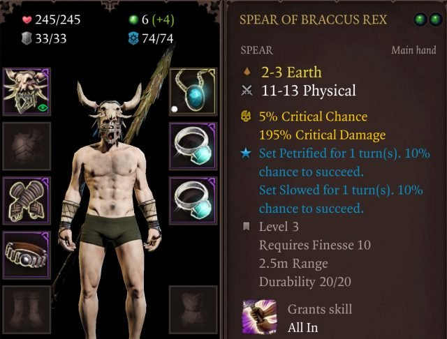 Spear of Braccus Rex