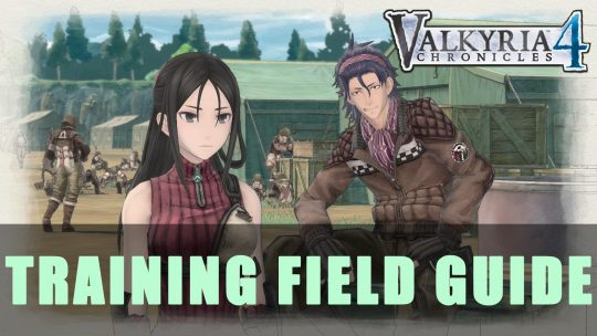 Valkyria Chronicles 4 Training Field Guide