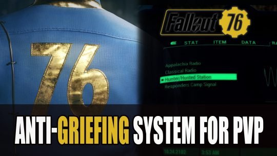 Fallout 76 has Preventative PVP Griefing Measures