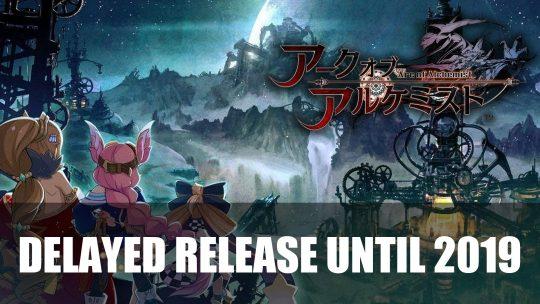 Arc of Alchemist the Exclusive PS4 JRPG Release gets Delayed