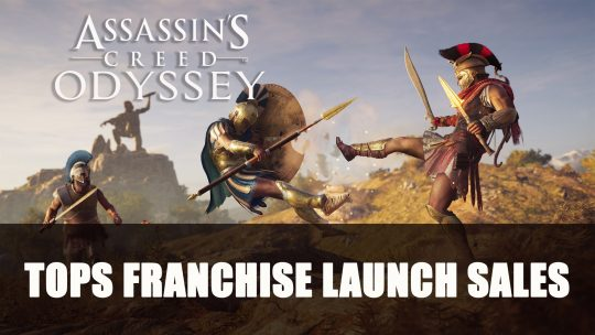 Assassin's Creed Odyssey Launch Tops Franchise Figures