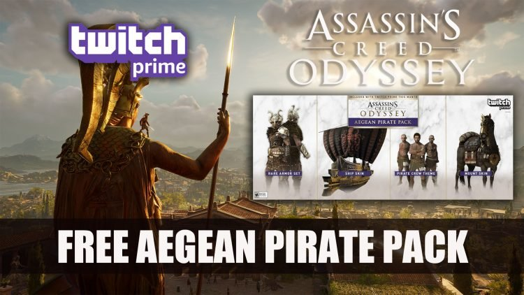 Assassin's Creed Odyssey Players Get Free Loot with Twitch Prime