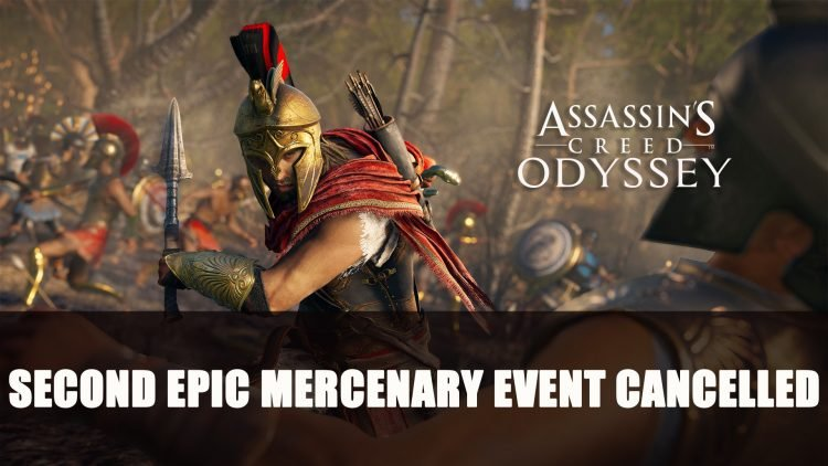 Assassin's Creed Odyssey's Second Live Epic Mercenary Event Gets Cancelled