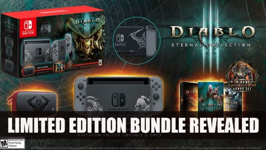 Diablo III Gets Limited Edition Nintendo Switch Console Exclusively at Gamestop