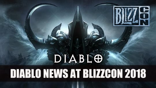 Blizzard Dampens Likelihood of a Diablo 4 Reveal at Blizzcon