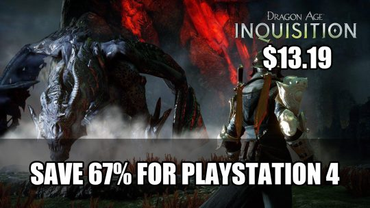 Save Over 60% on Dragon Age: Inquisition