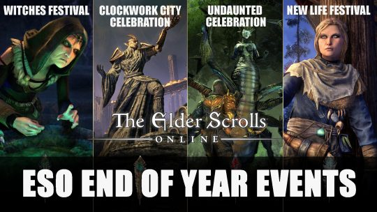 ESO End of Year Events