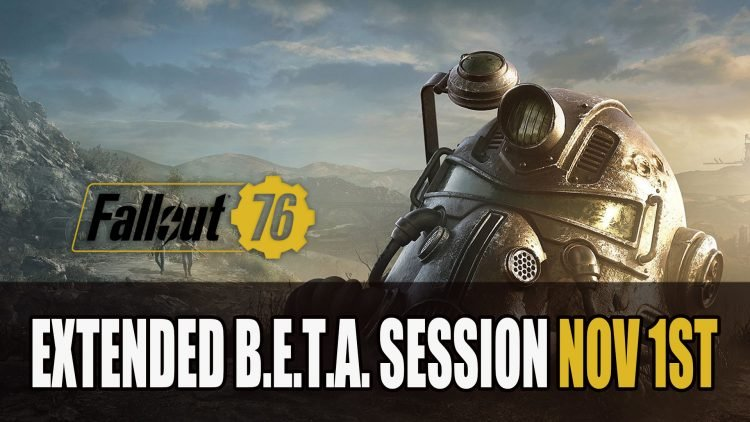 Bethesda Extends Fallout 76 Beta Session On November 1st