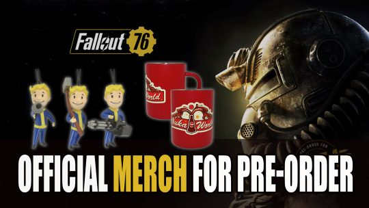 Official Fallout 76 Merch Available for Pre-Order