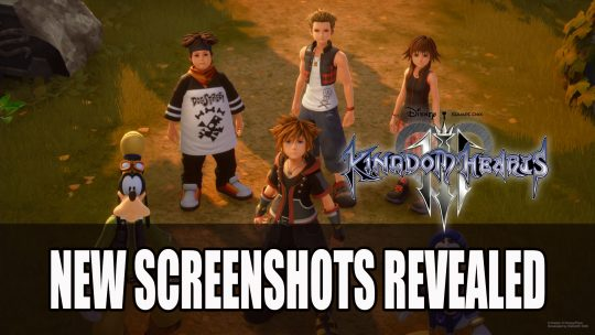 Kingdom Hearts III Reveal Twilight Town and Olympus Screenshots