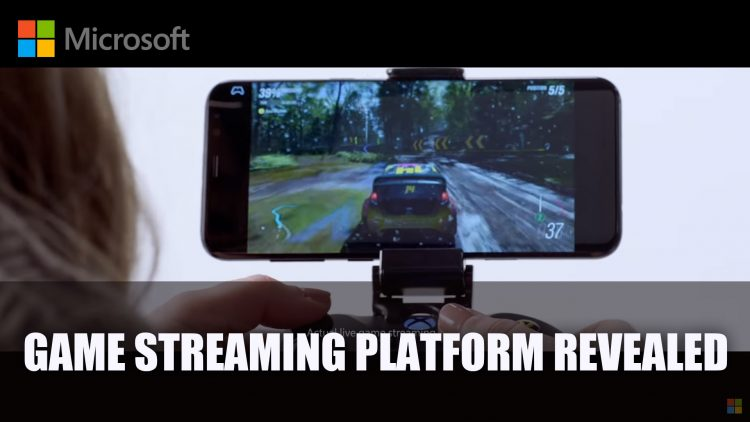 Microsoft Reveals Project xCloud Game Streaming Service Trials Starting 2019