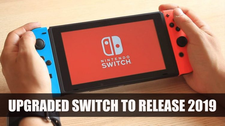 Nintendo to Release Updated Switch Next Year