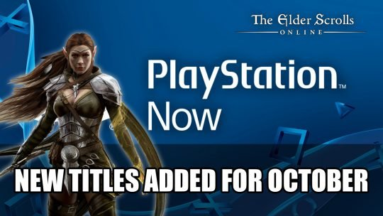 Playstation Now Adds ESO, Eve and More This October