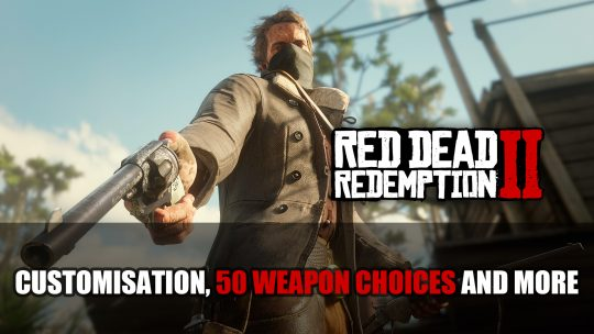 New Red Dead Redemption 2 Screenshots and Video Detail Guns In-Game