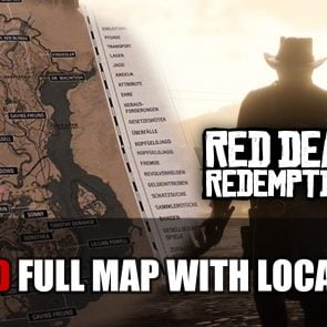 Red Dead Redemption 2's Entire Map Leaked