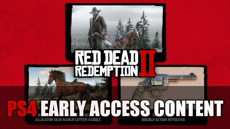 PS4 Red Dead Redemption 2 Owners Get Limited Exclusive Items