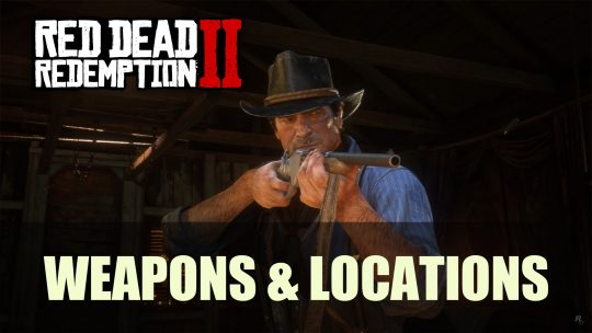 Red Dead Redemption 2: Purchasing Weapons Guide