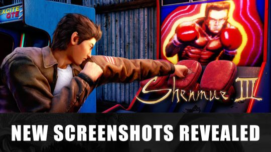 New Shenmue III Screenshots Shows Landscape and Arcade Boxing Game