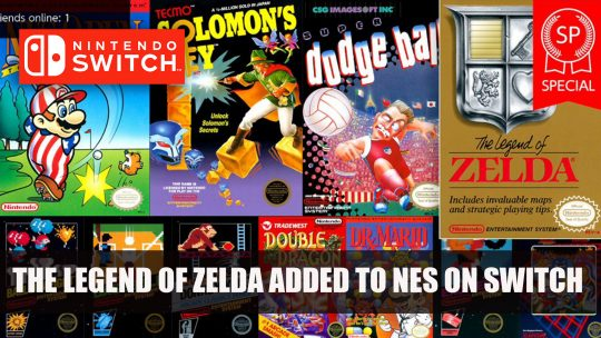 The Legend of Zelda special edition added to Nintendo Switch Online NES
