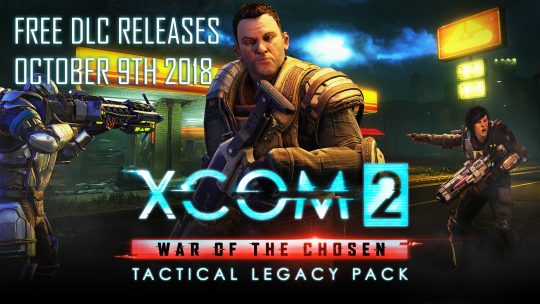 Firaxis Games Announces a Free XCOM 2 Tactical Legacy Pack DLC