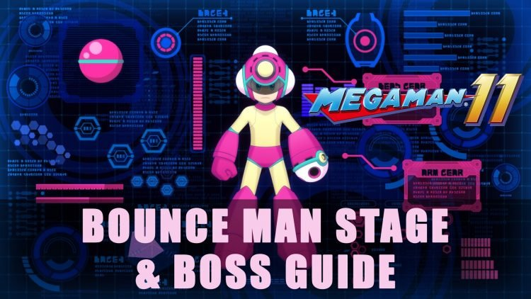 Mega Man 11: Bounce Man Stage & Boss Guide