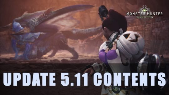 MHW: Update 5.11 Contents