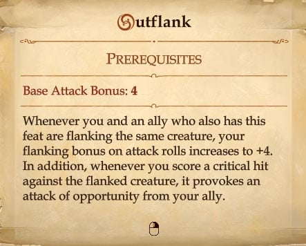 outflank