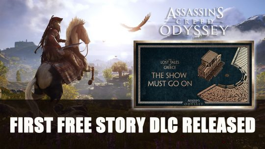 Assassin's Creed Odyssey Gets First Free DLC Story