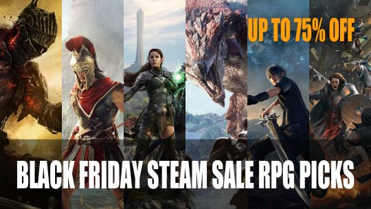 Black Friday Steam Sale RPG Picks