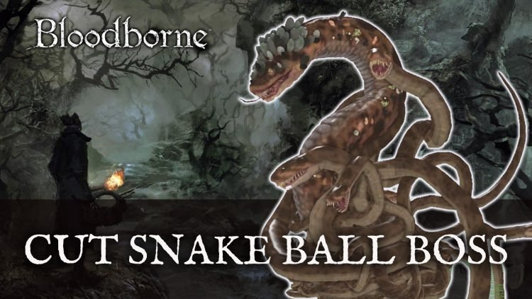 Cut Bloodborne Snake Ball Boss Revealed