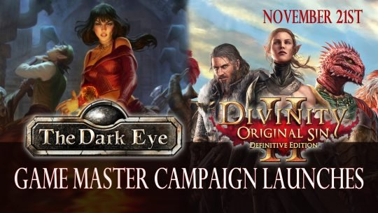 Divinity: Original Sin 2 Gets Free Game Master Campaign set in the Dark Eye Universe