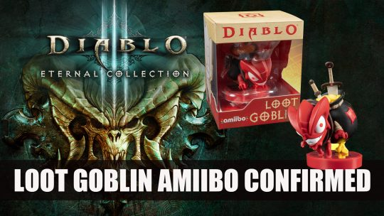 Loot Goblin amiibo Confirmed for Diablo 3 on Nintendo Switch
