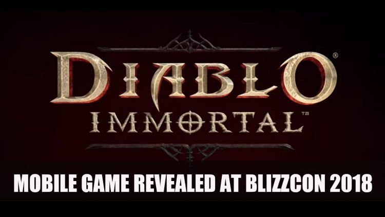 Blizzard Announces Diablo Immortal Mobile Game and Fans Are Less Than Thrilled