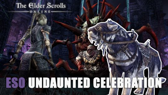 ESO Undaunted Celebration Event Starts November 29th