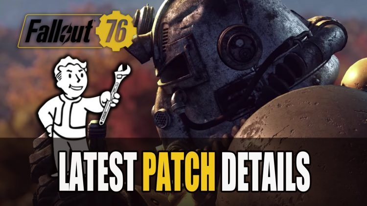 Fallout 76 Patch Details and Size is Almost 50 GB for Consoles