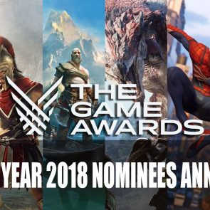 Game of Year 2018 Nominees Revealed
