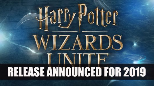 Harry Potter: Wizards Unite Releases 2019