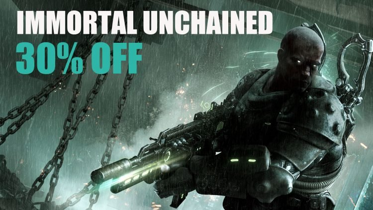 Immortal Unchained Get 30% Off for PS4 Limited Time Only