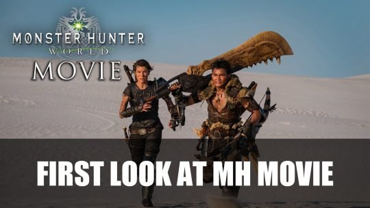 Sony Releases First Image from the Upcoming Monster Hunter Movie