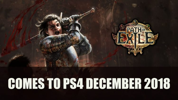 Path of Exile Comes to PS4 with 3.5.0 Expansion This December