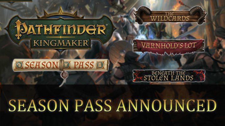 Pathfinder: Kingmaker Season Pass Revealed with DLC Details