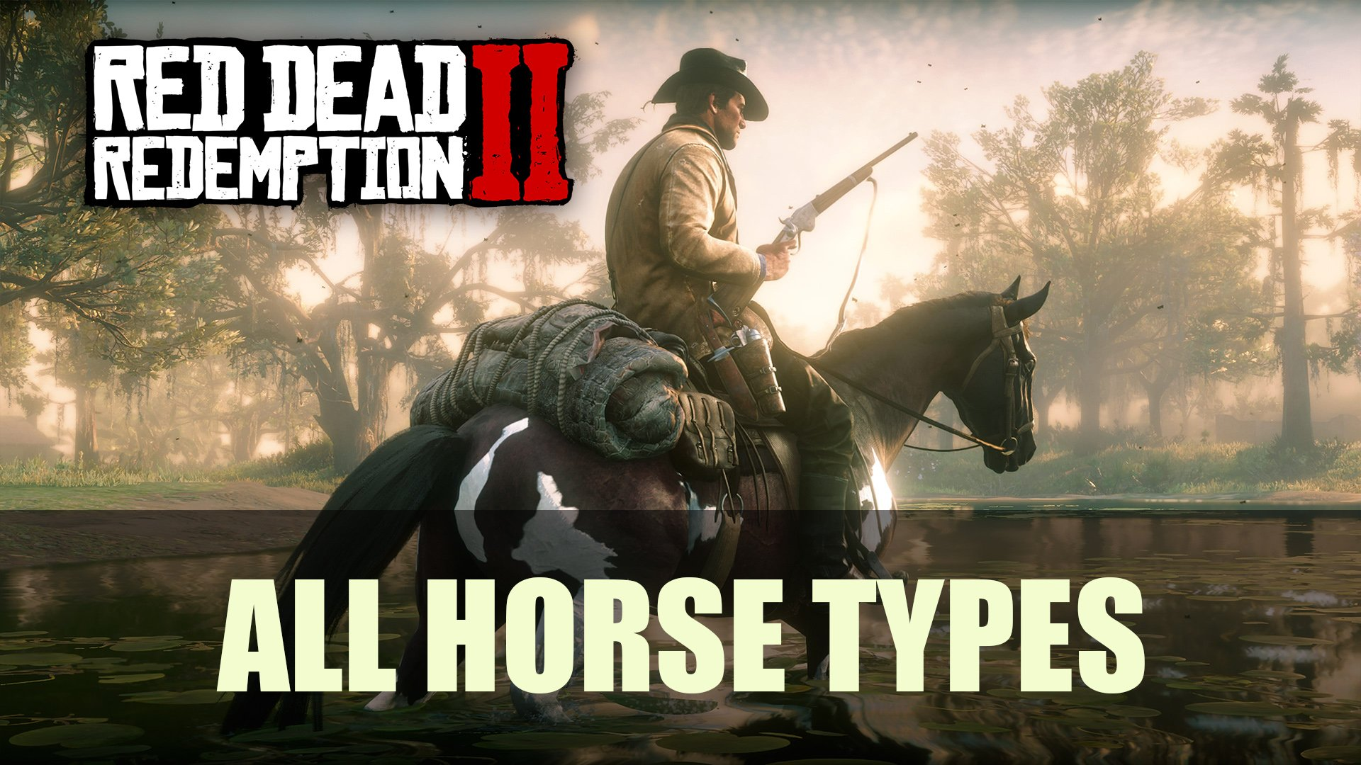 Red Dead Redemption 2 All Horse Types Guide Fextralife