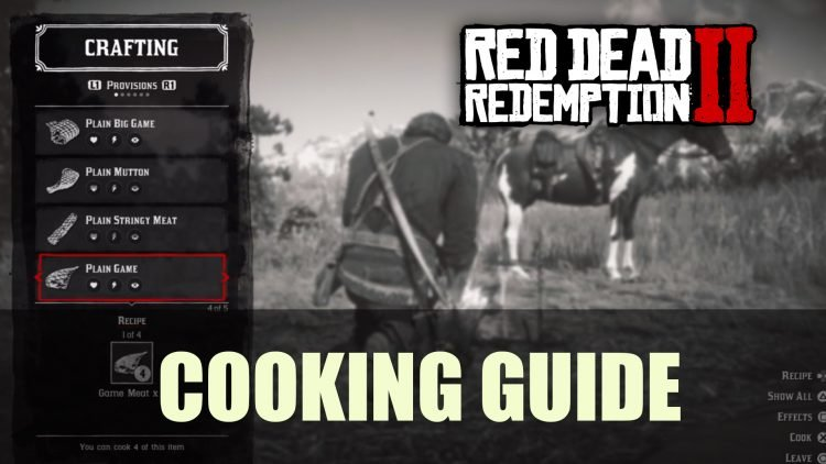 Red Dead Redemption 2: Cooking Guide