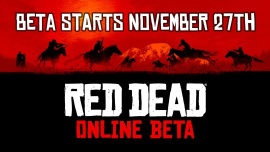 Red Dead Online Beta Starts November 27th